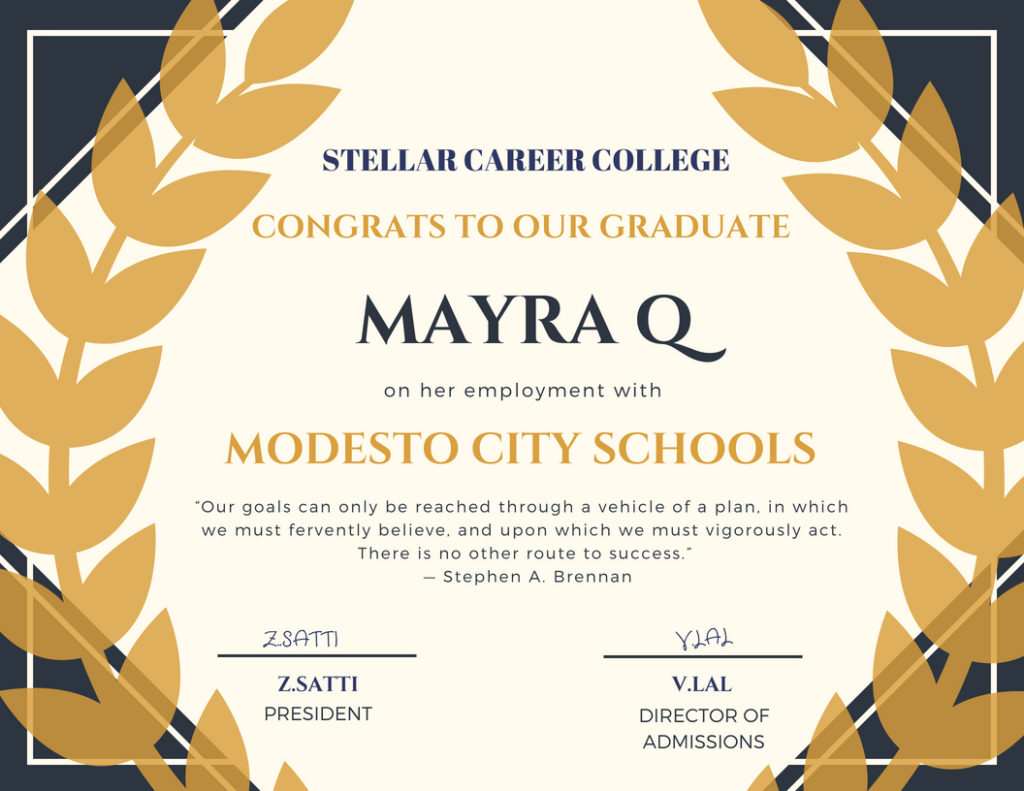 Stellar Career College | A strategy for your career